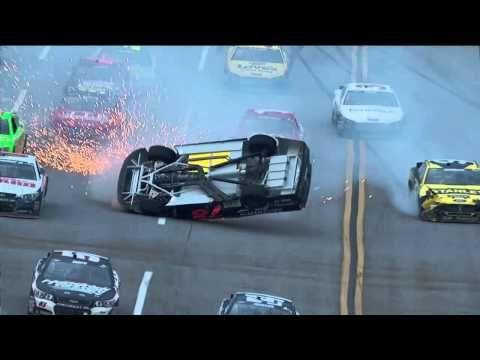 Kurt Buschs CRASH at Talladega 2013! - YouTube
