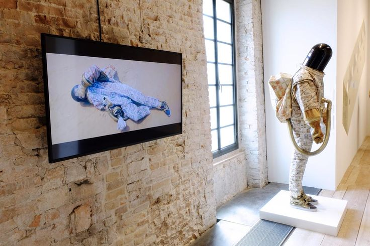© Gerald Machona's 'Ndiri Afronaut (I am an Afronaut)', 2012 (sculpture). All images courtesy of Another Africa / Clelia Coussonnet