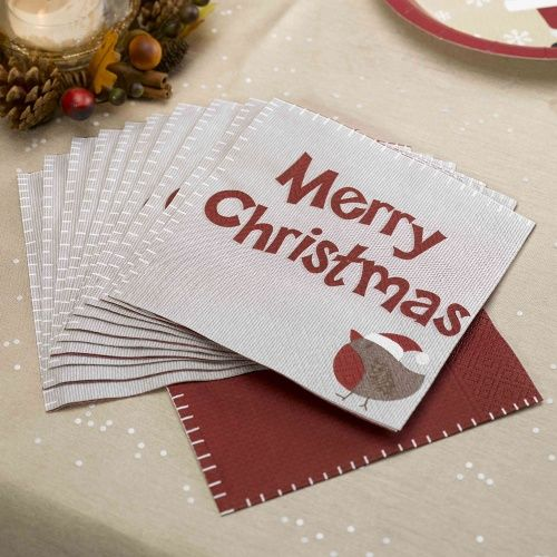 Let It Snow Paper Party Napkins Pack of 20 & 21 best Christmas Party Plates images on Pinterest | Party plates ...