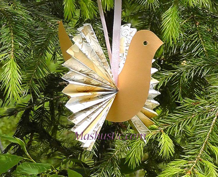 3D paper birds for kids | Mashustic.com