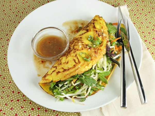 Vegetarian Vietnamese Pancakes | FN | Just Recipes