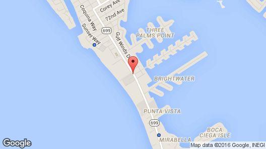 Alden Suites - A Beachfront Resort Map