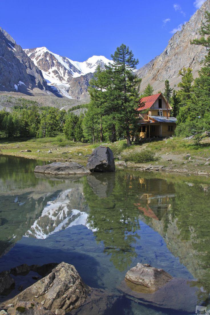 Aktash village, Ulagan area, Altai, Siberia, Russia.