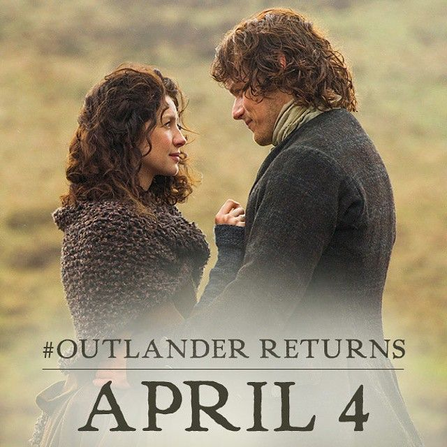 Outlanders, mark your calendars for April 4th and help us spread the word! #OutlanderSeries #STARZ @samheughan @caitrionabalfe