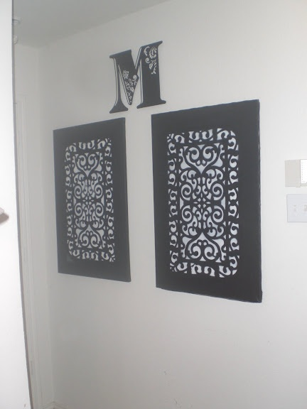 wall art made from a rubber door mat - Rubber Door Mat