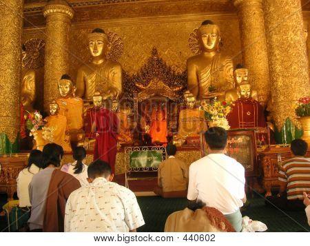images of buddhists at worship | Buddhist Worship Stock Photo & Stock Images | Bigstock