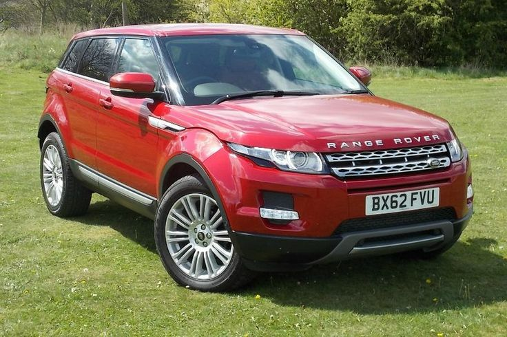 Range rover evoque 2 2 sd4 prestige firenze red metallic - Range rover with red leather interior ...