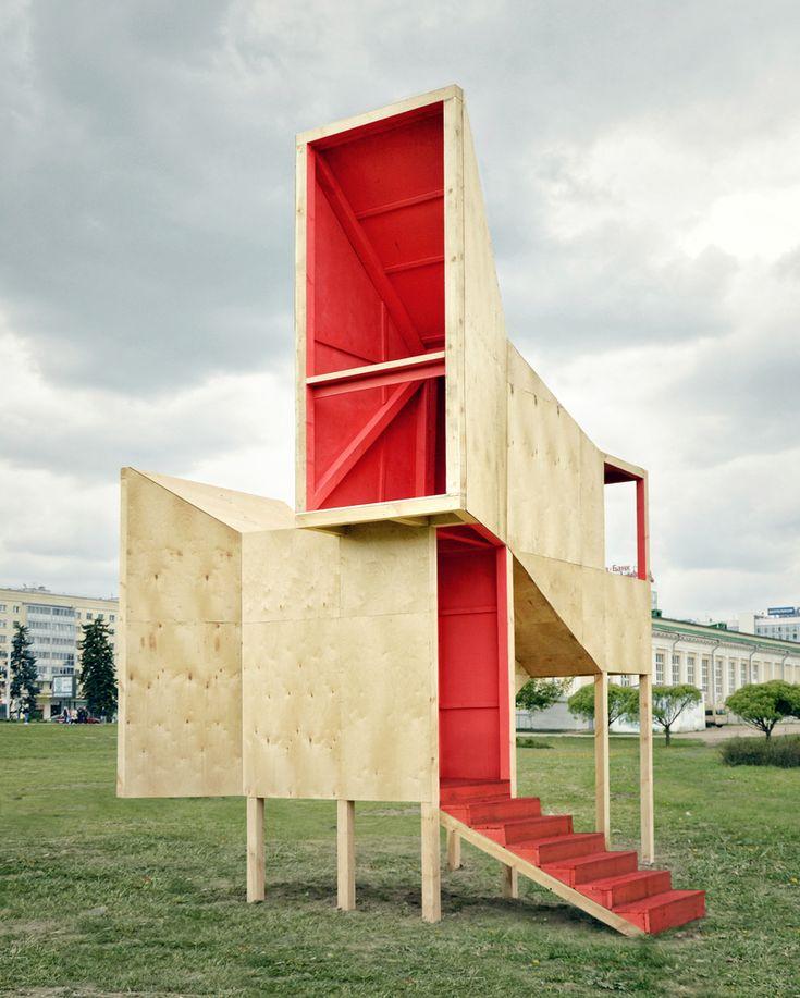 Gallery of Frame Pavilion / Menthol Architects – 4