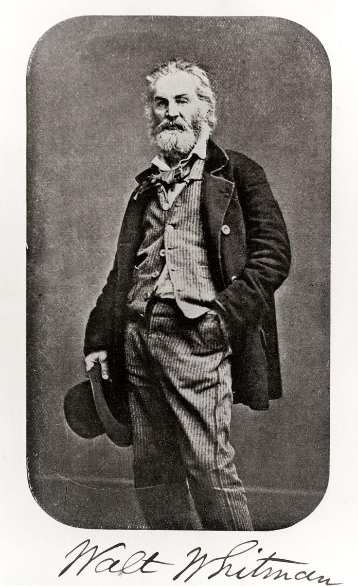 how do walt whitman in the Poet and journalist walt whitman was born on may 31, 1819 in west hills, new york considered one of america's most influential poets, whitman aimed to transcend traditional epics and eschew normal aesthetic form to mirror the potential freedoms to be found in america.