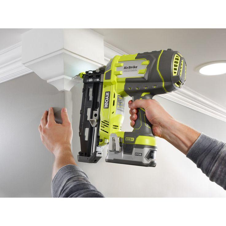 18V Cordless 16G Nailer | R18N16G | Power Tools | Ryobi Tools
