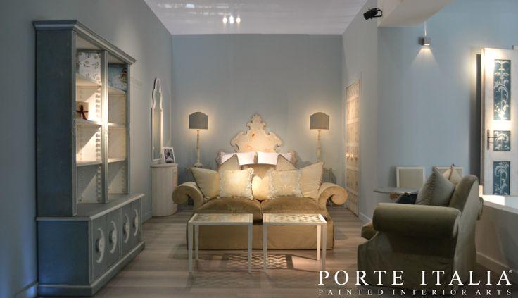 """Our booth preview at Milan Exhibition """"Il Salone del Mobile"""" - Porte Italia Interiors"""