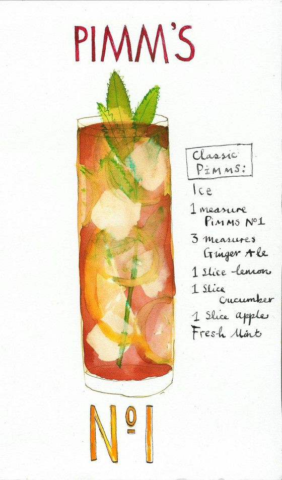 My signature drink: Pimms Cup