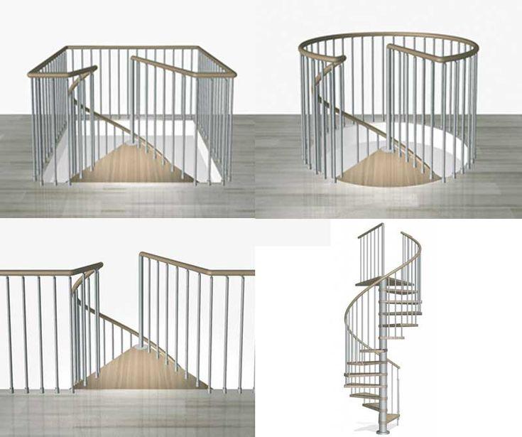 1000 id es sur le th me escalier en colima on sur pinterest grande cage d - Dimension escalier colimacon ...