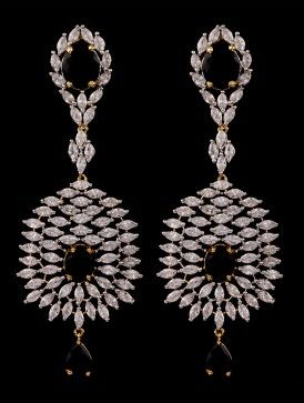 chandelier AD earrings