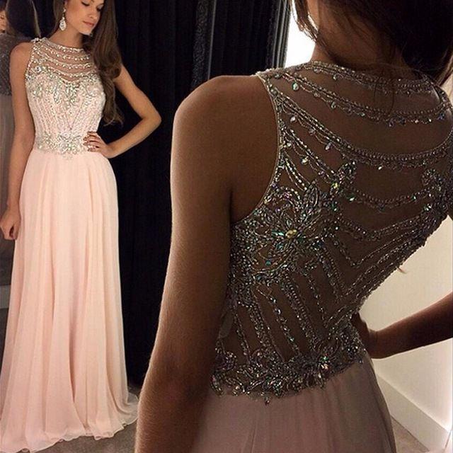 Vestido lindo para o baile de finalistas