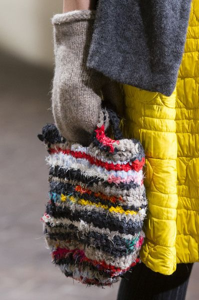 Daniela Gregis at Milan Fashion Week Fall 2017 - Details Runway Photos