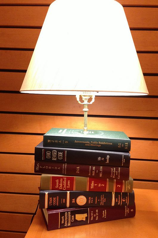 Book Lamp In 2019 Book Lamp Recycled Lamp Book Crafts