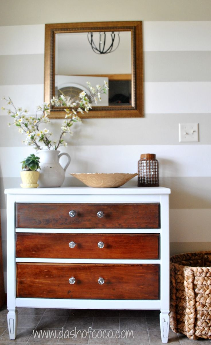 59 best images about nursery repainting old dresser for - Dresser une table couvert ...