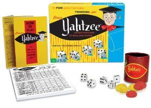 December 2015 - What I'm Playing - Board Games - Yahtzee- An oldie that never gets old! (not an affiliate link, endorsement, or sponsorship) #Boardgames #FamilyNight #Games