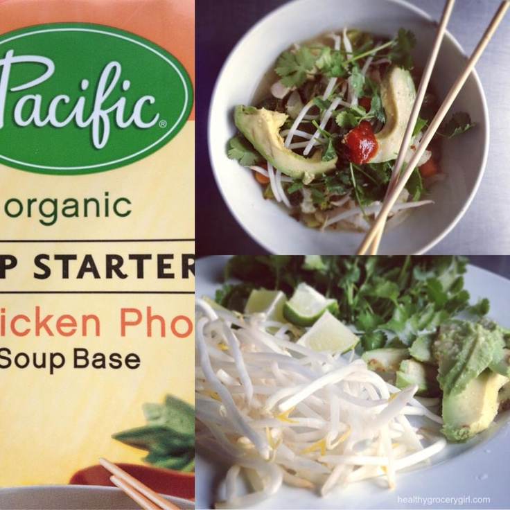 Pho soup made with Pacific Natural Foods Pho Soup Starter ...