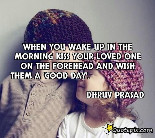 Good Morning Kiss Images With Quotes