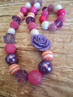 Staying Sane While Staying Home!: Kids Chunky Necklace DIY - Part Three