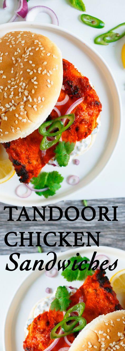 Tandoori chicken | chicken sandwich | spicy chicken sandwich | grilled chicken sandwich | grilled chicken recipes | indian chicken recipes | indian sandwich | spicy chicken