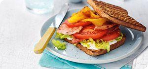BLT sandwich - Slimming World style! http://www.slimmingworld.co.uk/recipes/bacon-lettuce-tomato-and-pepper.aspx