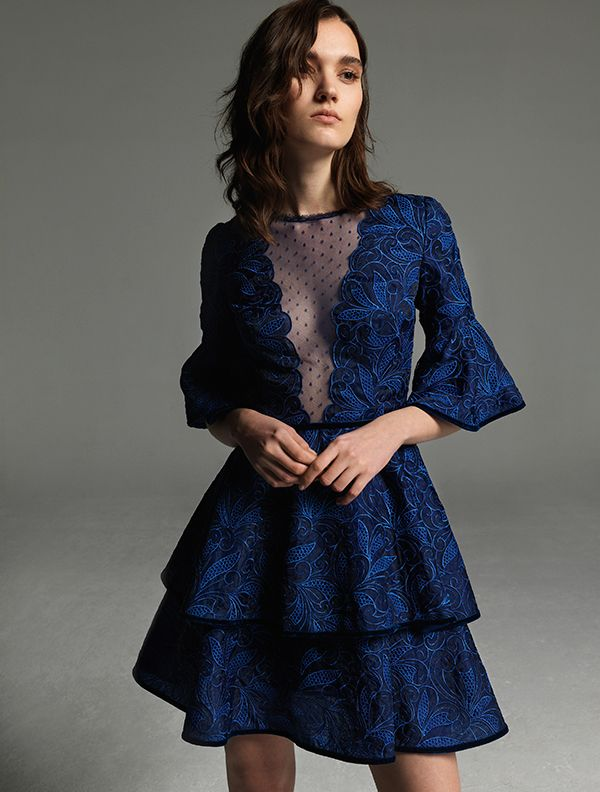 471f2c99b53c Stylish βραδυνα φορεματα για γαμο   Ρούχα που θέλω να φορέσω   Vestidos e  Vestido jovem