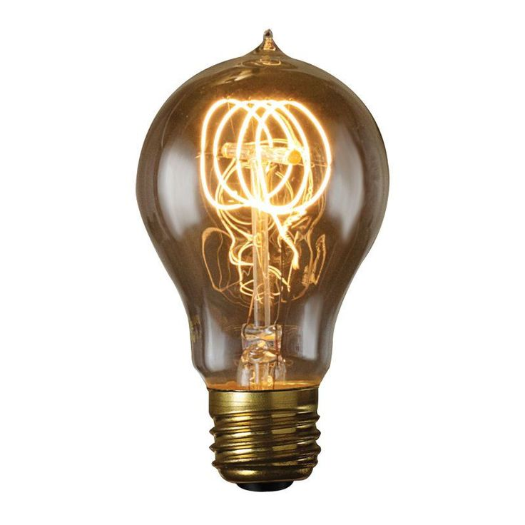 Bulbrite 60W Victorian Loop Filament A19 Incandescent Edison Light Bulb - 6 pk. - BULB562