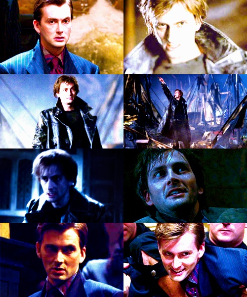 David Tennant in Harry Potter.  Barty Crouch Jr.