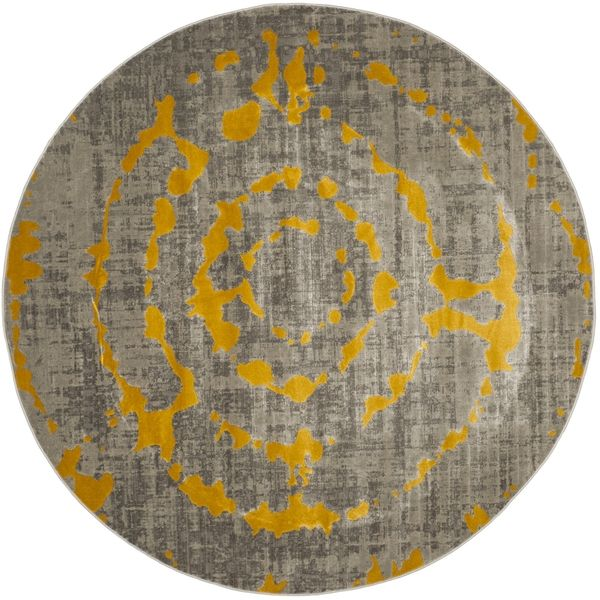 Safavieh's Porcello collection is inspired by timeless contemporary designs crafted with the softest polypropylene available. This rug is crafted using a power-loomed construction with a polypropylene