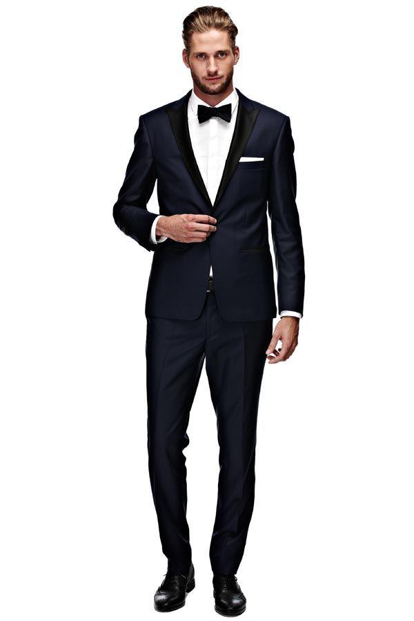 Van Gils smoking jakkesæt til mænd. Blå.