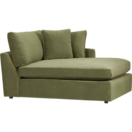 Lounge right arm sectional chaise for Armed chaise lounge
