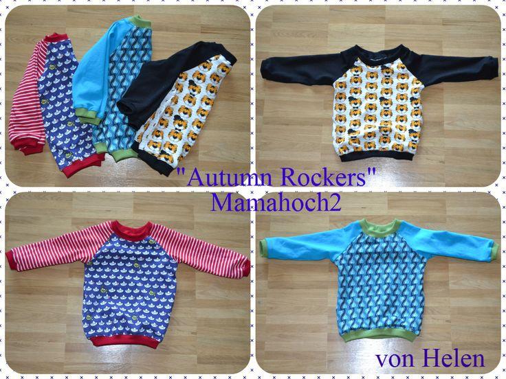 """""""Autumn Rockers"""" Raglan Pullover - Mamahoch2"""