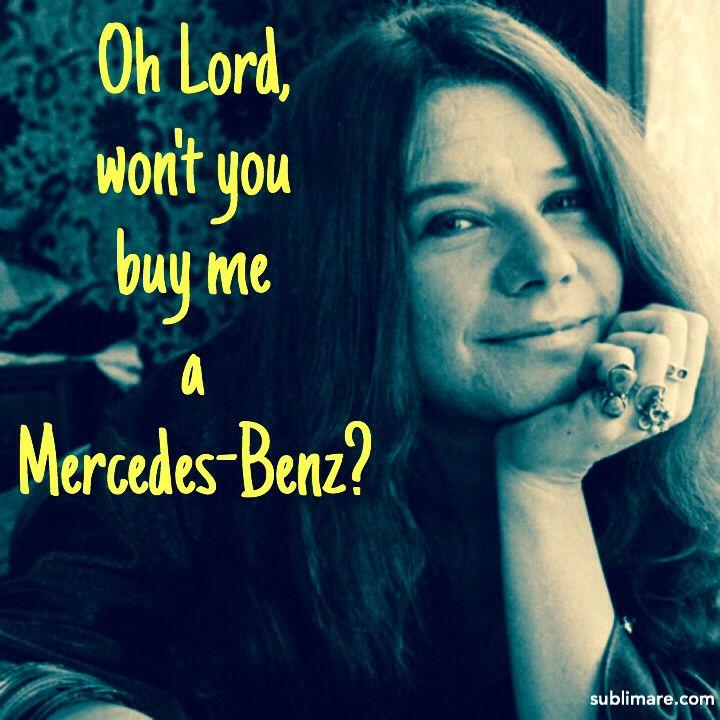 17 melhores imagens sobre music no pinterest amigos for Janis joplin mercedes benz lyrics
