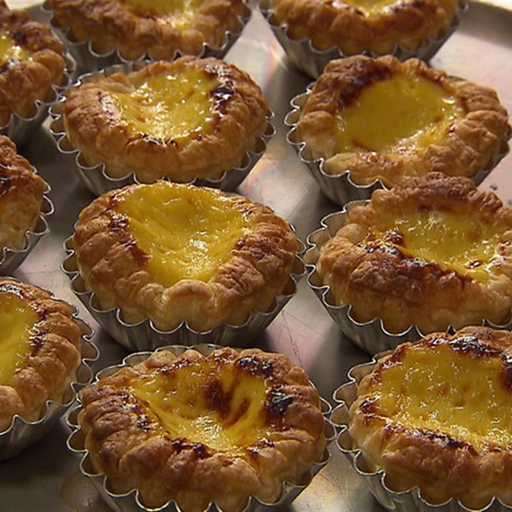 Try this Portuguese Custard Tarts recipe by Chef Paul West . This recipe is from the show River Cottage Australia.