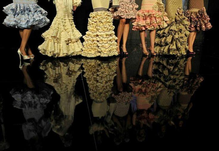 Faldas flamencas espectaculares