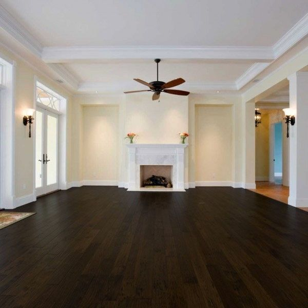 5 chocolate birch dark wood flooring hardwood floor for Dark wood vinyl flooring
