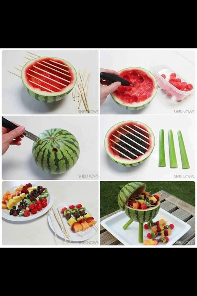 Party snacks. Too flippin cute for Memorial Day or 4th of July