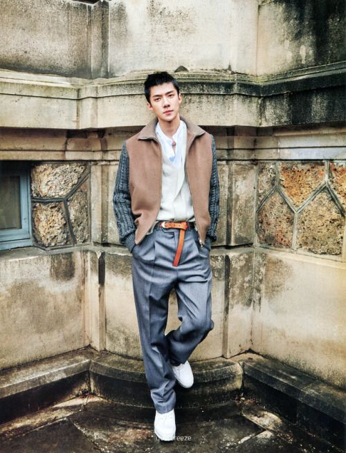 Sehun - 170623 Marie Claire magazine, July 2017 issue - [SCAN][HQ]  Credit: Your Breeze.
