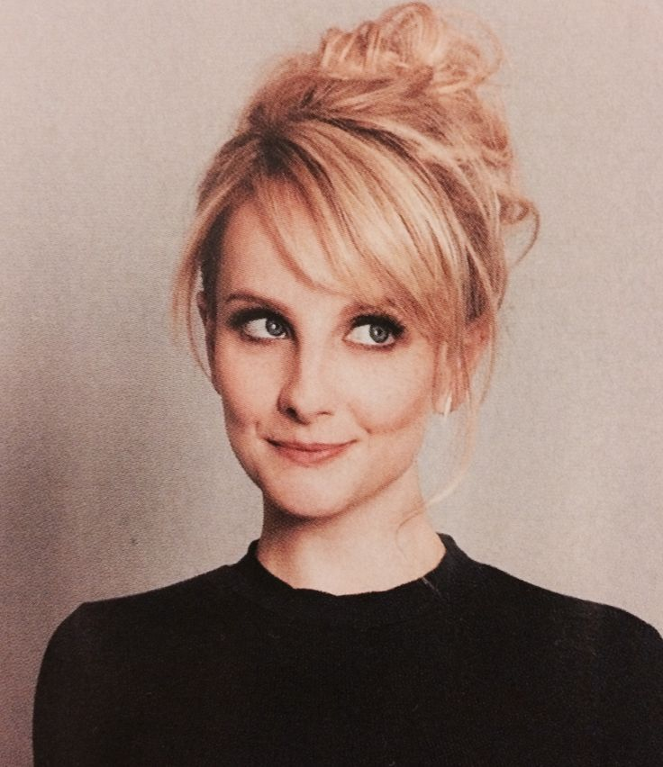Bang perfection : Melissa Rauch Glamour April 2016