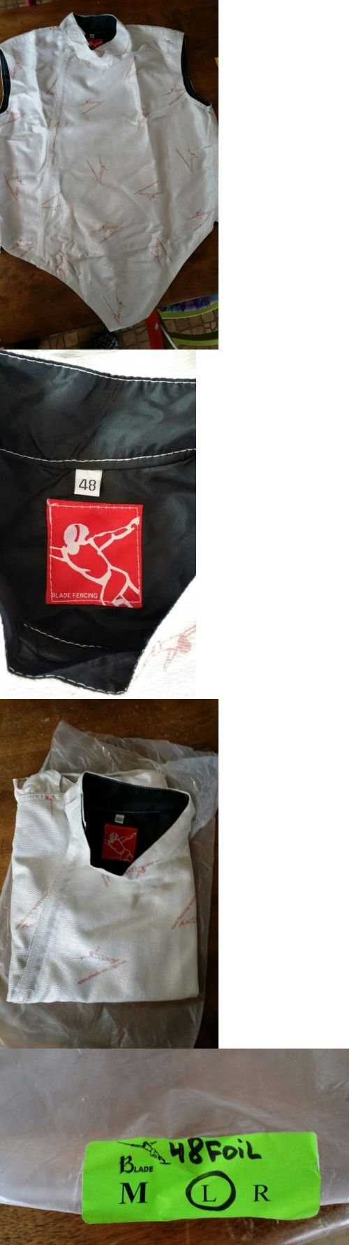 Fencing 47322: Blade Foil Lame For Left Handed Men Size 48 -> BUY IT NOW ONLY: $49 on eBay!