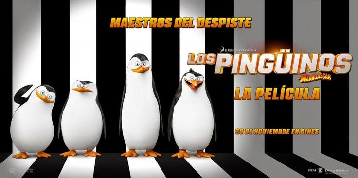 Los  pingüinos de Madagascar de Simon J. Smith