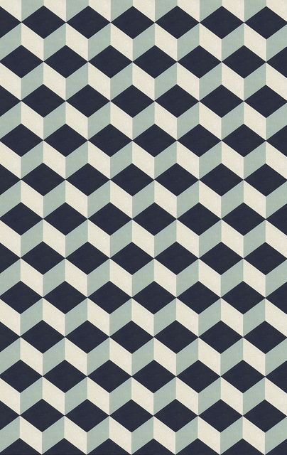 Would make an interesting rug design - possibly in less contrasting colours