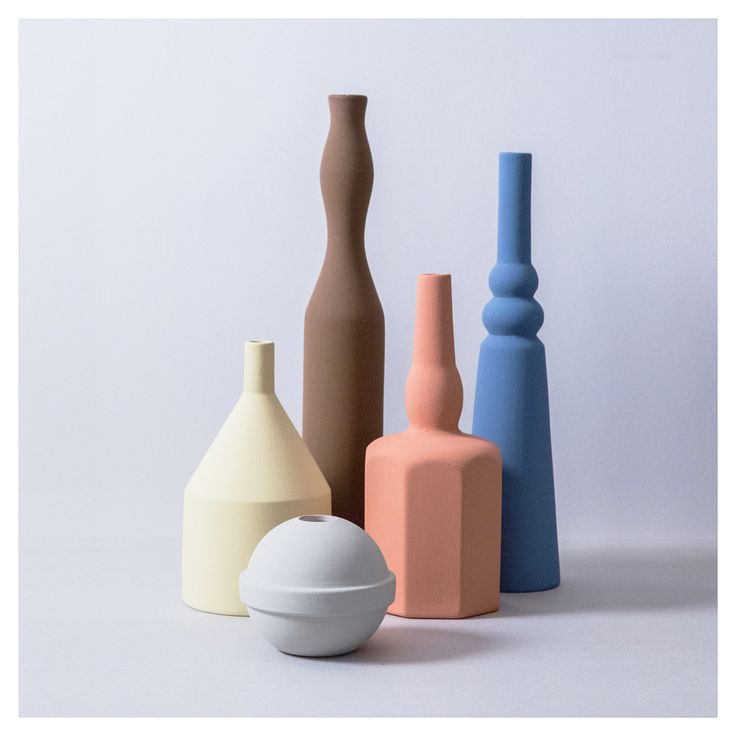 Sonia Pedrazzini - Le Morandine V, handmade ceramic vase series