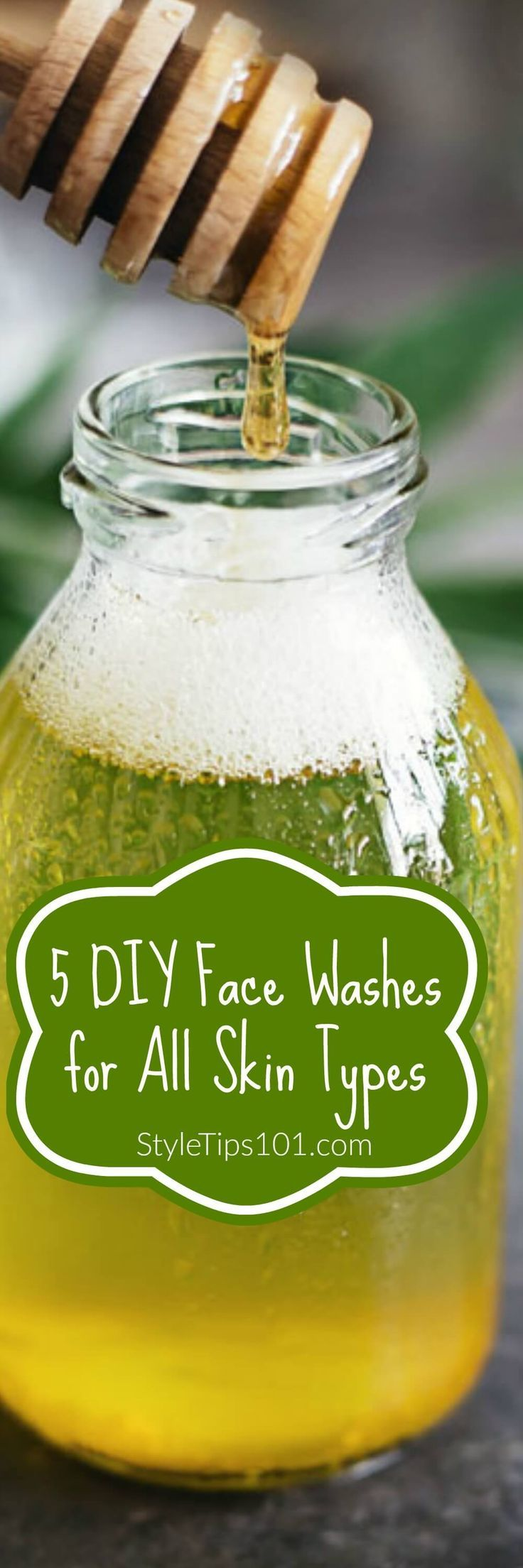 DIY face washes for ALL skin types!