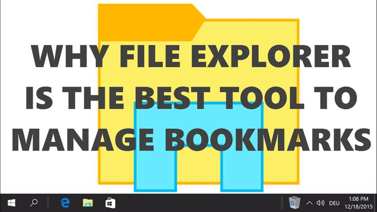 Using Windows File Explorer as a bookmark manager has various benefits. Creating organized topic collections and support for various browsers are just two of them.