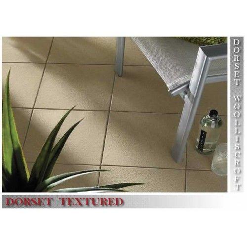 Slip resistant Textured Steel Grey tile 300 x 300 x 9 mm - DW-TXSGR3030