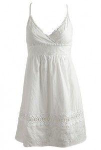 summer white little dress